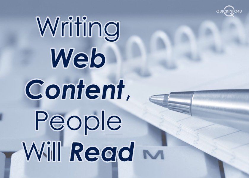 Writing Web Content People Will Read